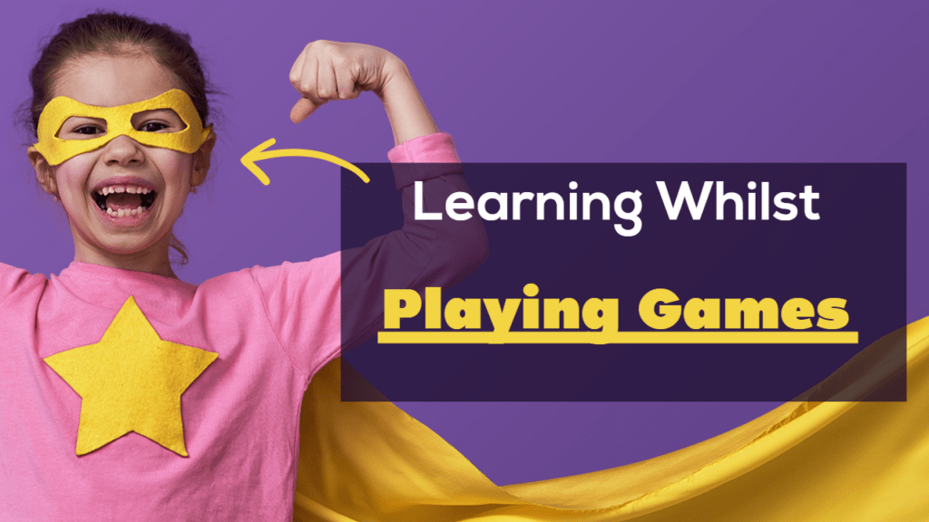 Learning Whilst Playing Games Keep Fit and Strong